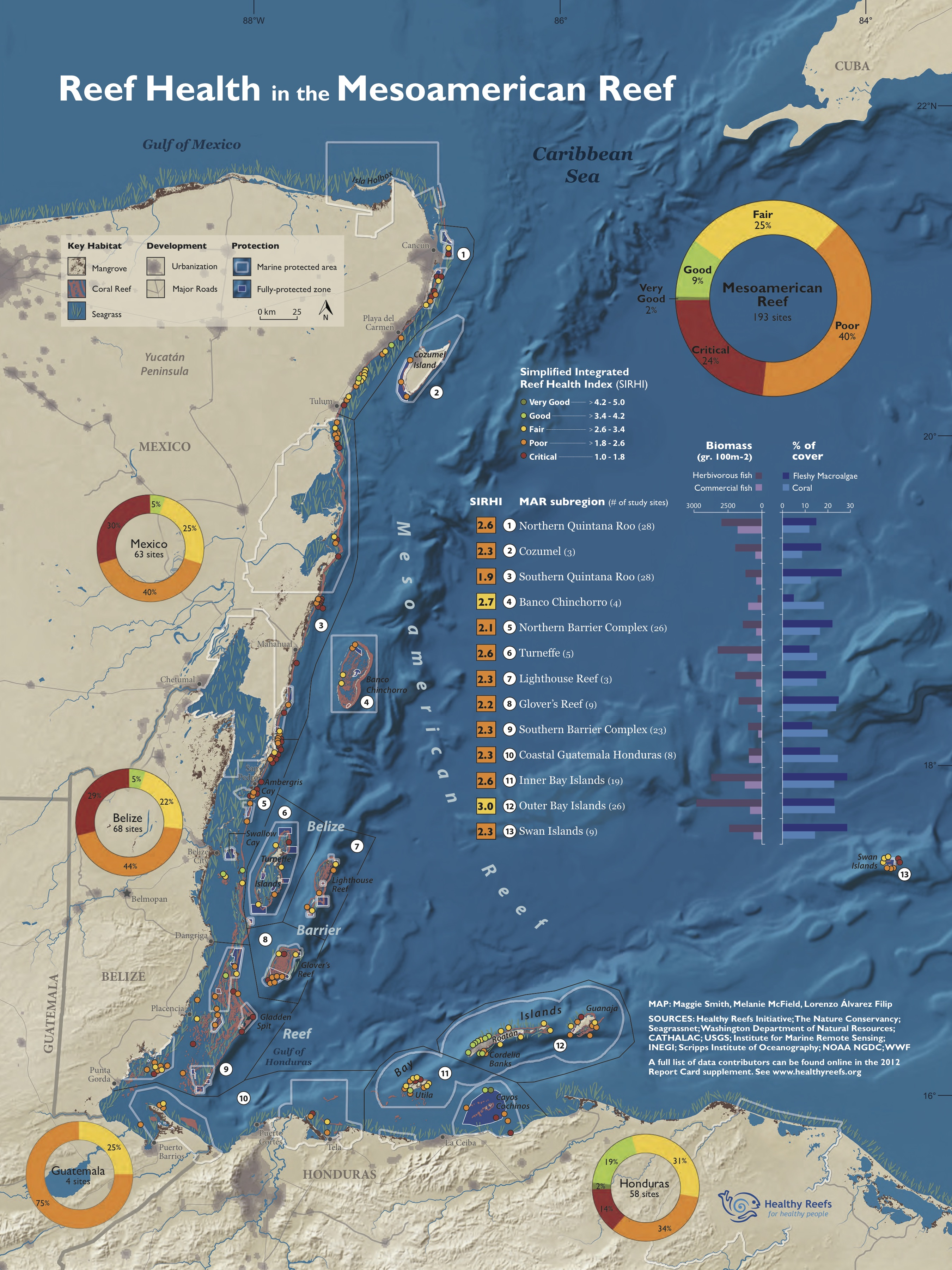 2012 Report Card Map