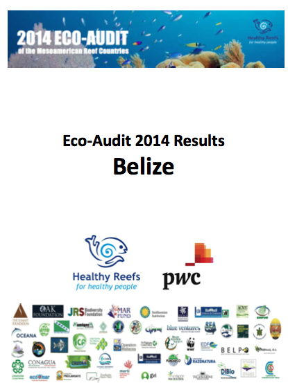 Front Page Belize 2014