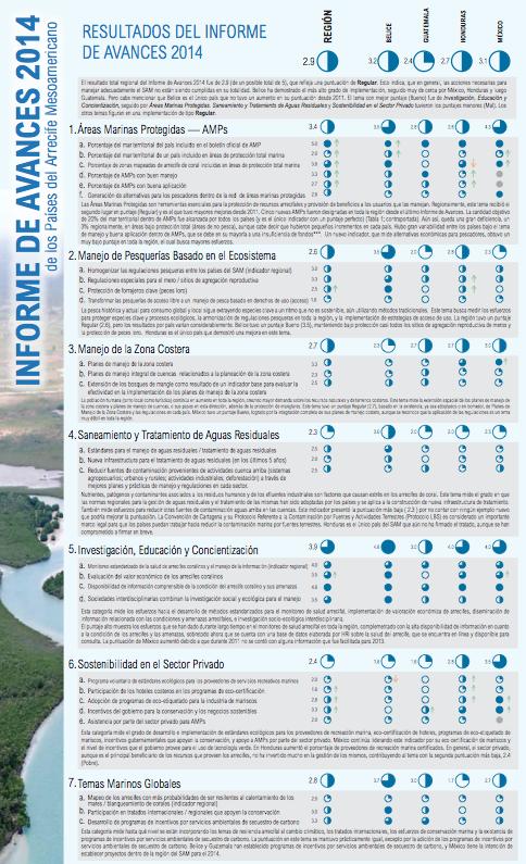 P Resultados Informe de Avances 2014